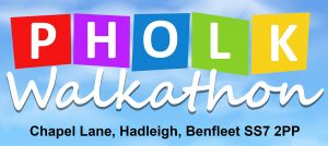 Pholk Charity Walkathon at Hadleigh Park!
