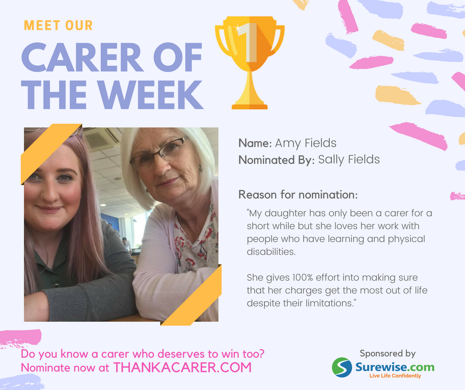 Our Winner's Stories: Thank a Carer