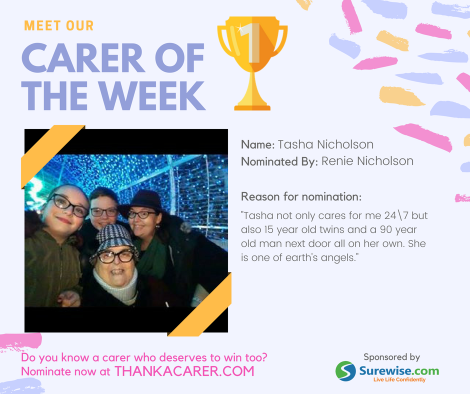 Carer of the Week | Renie and Tasha Nicholson