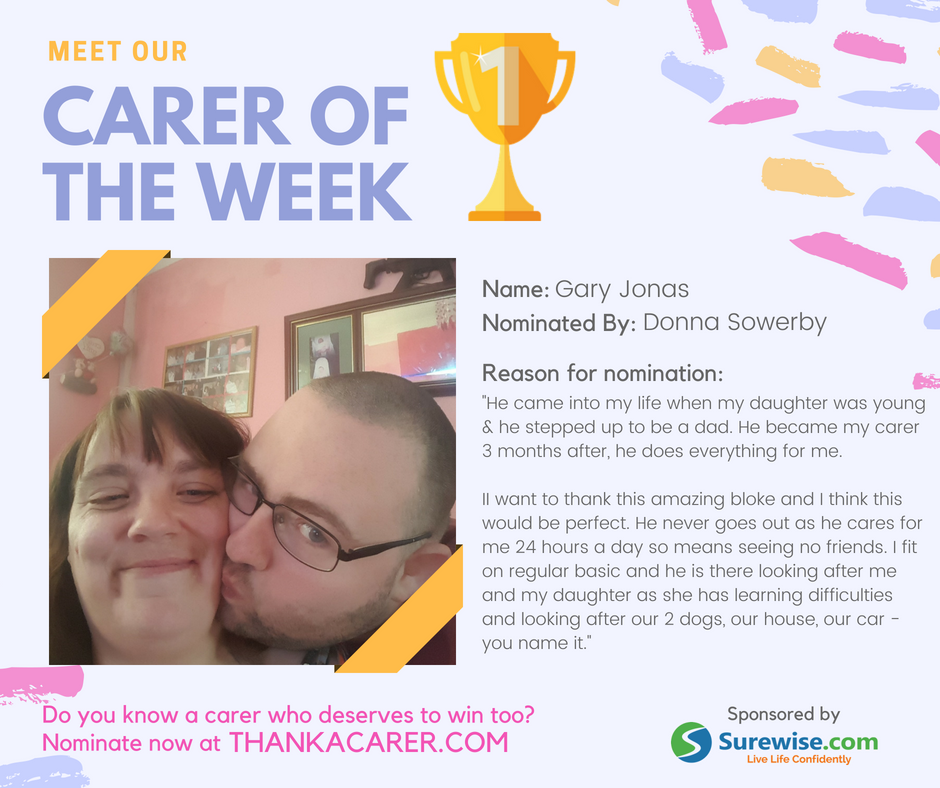 Carer of the Week | Donna & Gary Jonas