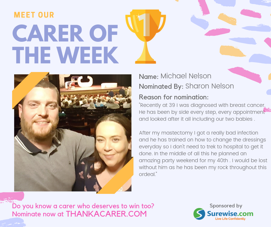 Carer of the Week: Michael Nelson