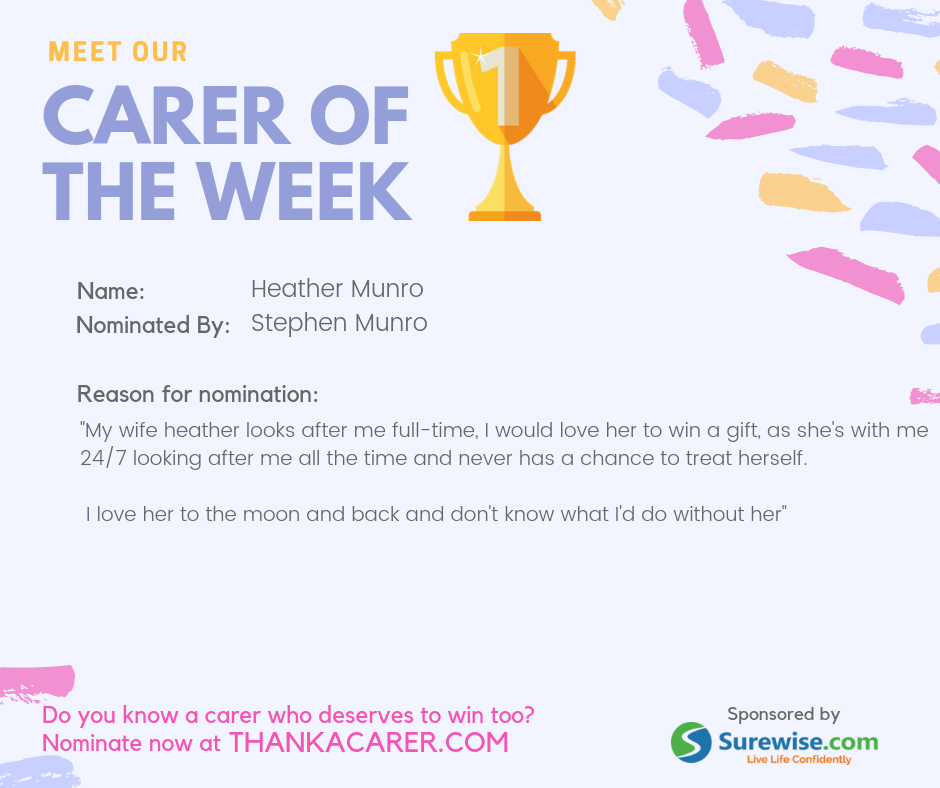 Carer of the Week: Heather Munro