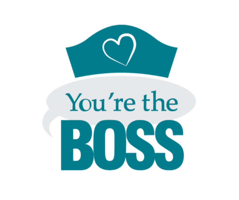 You're The Boss Sponsor Thank A Carer